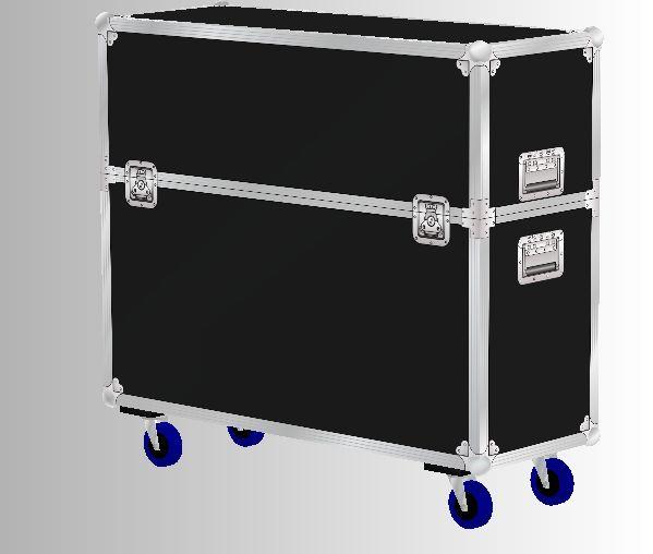 Rollkoffer für Messe-Equipment